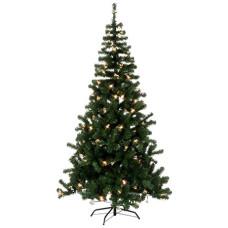 Juletre Alaska 210 cm, 150 stk LED (IP44 for bruk inne og ute)